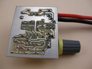 Bottom side of pcb