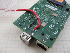 Raspberry Pi power supply modifications