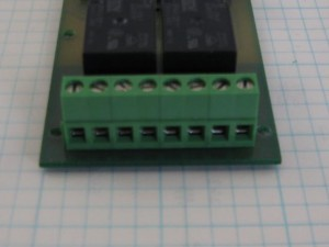 2 circuit relay output terminals