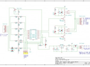 Dual channel relay module schematic