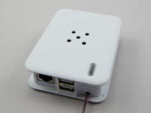 Raspberry Pi case power and ventilation
