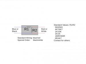 EOL resistor details