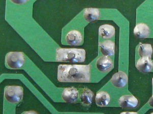HDD power supply repair