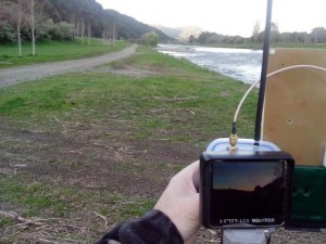 2.4G receiver test at 700 meters