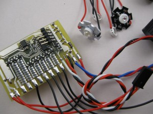 RC LED lighting controller C3