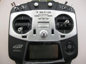 Futaba tranmitter switch swap