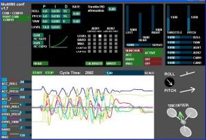 Multiwii GUI configuration