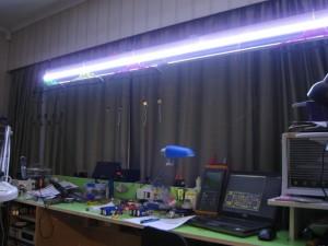LED lighting test