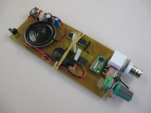 tracker kit receiver