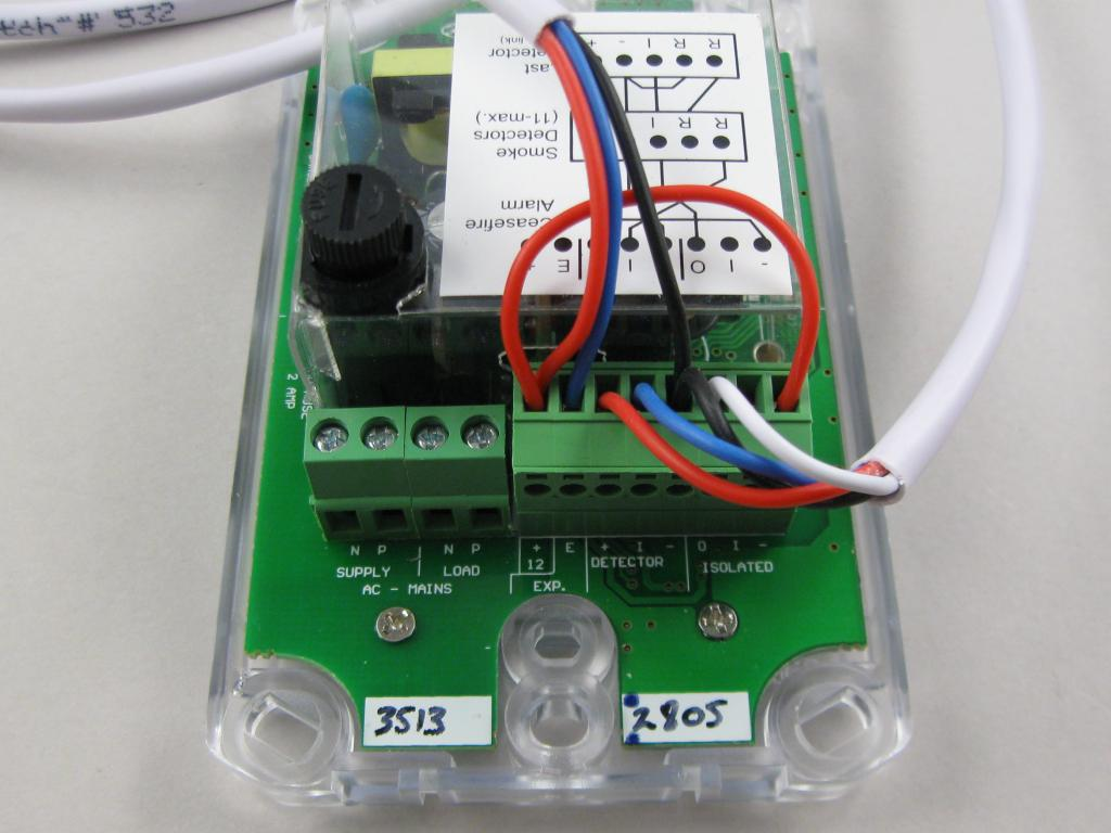 Fire Denyer Installation Pmb Nz Rcd Wiring Diagram System Components Connections Are Shown In The