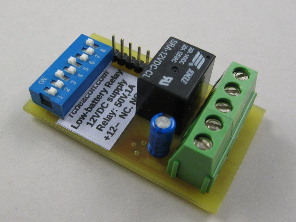 Low Voltage Relay Detector For 12v Pmb Nz Rcbeacon Com