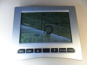 wh3081 weather station console