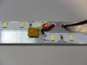 LED termination with fuse
