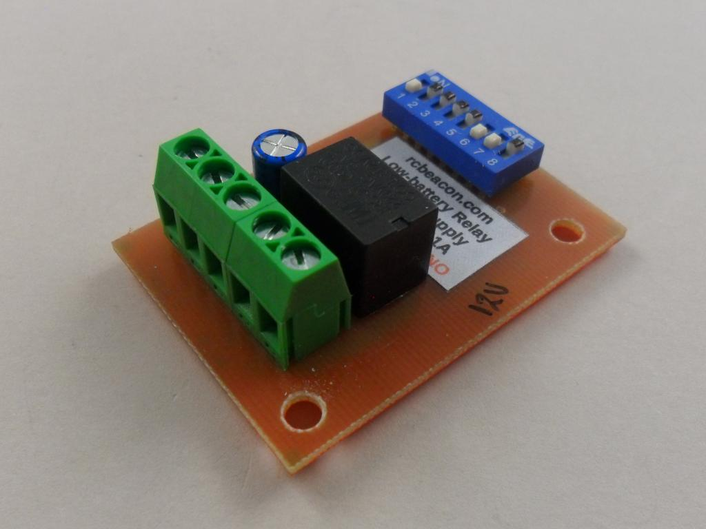 Low Voltage Relay Detector For 12v Pmb Nz Alarm Circuit