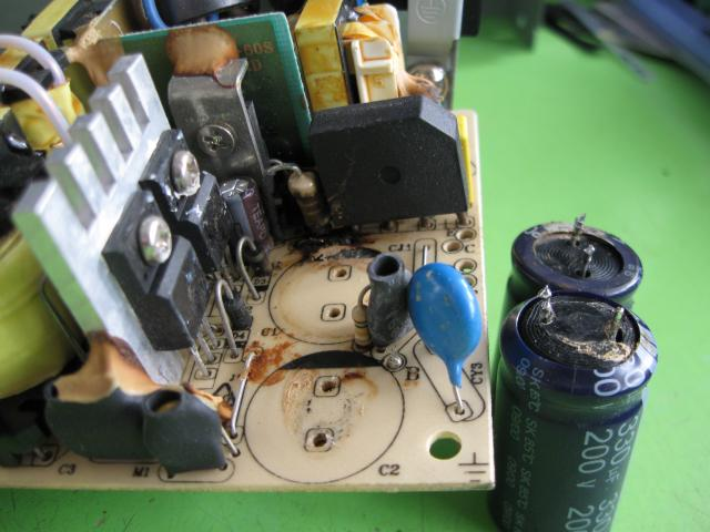 A-Open power supply repair