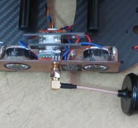 FPV transmitter mounting