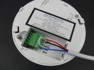 smoke alarm wiring